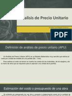 presentacion-analisisdepreciounitario-170123175354