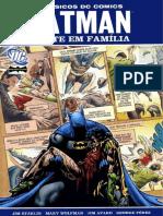 BATMAN Uma Morte Em Familia