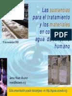 Curso Potabilizacion Del Agua