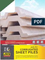 Corrugated Pile