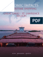 Economic Impacts of Maritime Shipping in the Great Lakes-St. Lawrence Region - full report