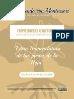 Mini Libro de las partes de la hoja para completar - CreciendoConMontessori..pdf