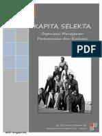 Organisasi Manajemen Perencanaan dan Evaluasi (OMPE) - Kapita Selekta