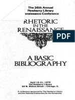 James J. Murphy - The 26th Annual Newberry Library Renalssance Conference _ Rhetoric in the Renaissance _ a Basic Bibliography (1979, The Newberry Library)