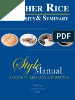 LRU Style Manual