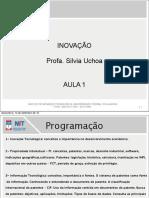 aula 1 - inovação 2012