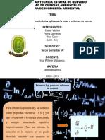 Termodinamica Presentacion Volumen y Masa
