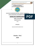 Mypes Derecho Empresarial
