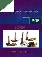 Equipos y Maquinarias Mineras