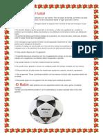 Futsal reglas y dimensiones