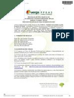 UERGS Processo de Selecao Para Ingresso Em 2019