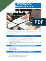 Carrera de Informática Administrativa en SENATI - Programa de Calificación para personas que trabajan