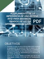 acoplamiento de impedancia de chip rfid para aumentar rangos de antena