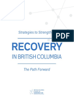Report Strategies to Strengthen Recovery in British Columbia the Path Forward