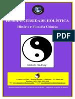 Apostila - Historia Filosofia Chinesa.