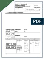 Guia de Aprendizaje Clasificar, Analizar y Revisar Documentos