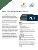Digital Signage Eval Kit