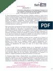 Informe No 4 Cenidh - violaciones sistemáticas a los derechos humanos - Periodo del 19 de junio al 14 de julio de 2018