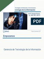 Gerencia de TI - Semana 01 Clase.pdf