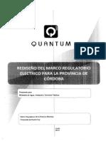 Marco Regulatorio Eléctrico -CÓRDOBA-