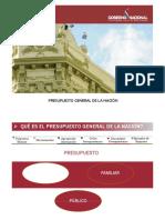 Presupuesto General de La Nacion