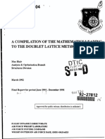 BLAIR-A Compilation of the Mathematics Leading Doublet Lattice Method-1994