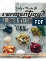 Fermenting Fruits and Vegetables
