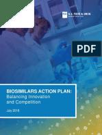FDA Biosimilar Action Plan