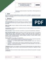 FGB ECP 01 Politica Global de Proteccion de Datos Personales