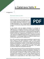 Biografia - Santiago Calatrava Valls