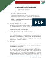Especificaciones Tecnicas Generales Okkkk