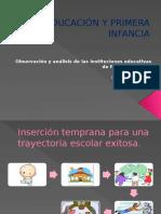 Educacion y Primera Infancia Pp