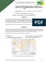 IDENTIFICAÇÃO DE ÁREAS PRIORITÁRIAS PARA CONSERVAÇÃO DOS RECURSOS HÍDRICOS NA BACIA HIDROGRÁFICA DO RIO MANSO –MG