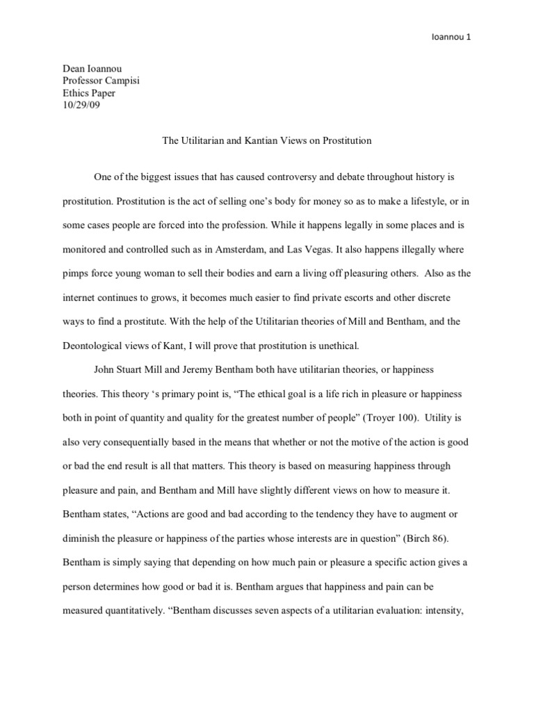 kantian and utilitarian theories The deontological and utilitarian cases for rectifying structural injustice in  accepted neo-classical economic theories that supported the classical libertarian.