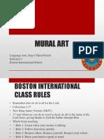 Step 4 PPT L Arts July 17th - 21st Mural Art