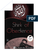 Shirk of Obedience - Ahlut-Tawhid Publications