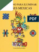Cuaderno Para Iluminar. Dioses Mexicas