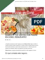 Pizza en Cono
