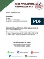 carta cucuta soccer cup 2018