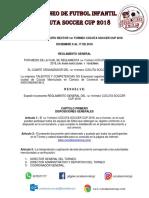 reglamento cucuta soccer cup 2018