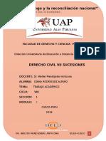 DERECHO SUCESIONES