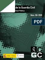 Cuadernos de La Guardia Civil - Cgc56 - 2018