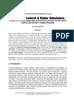 THE AN/TPS-70 VIRTUAL RADAR SIMULATOR PROJECT
