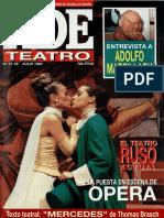 ADE Revista teatro