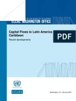 Capital Flows to Latin America and the Caribbean