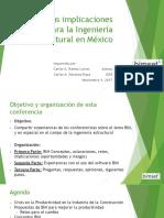 BIMy Sus Implicaciones Para La Ingeniería Estructural en México