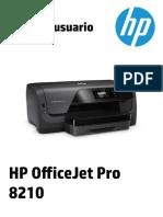 HP OfficeJet Pro 8210 Printer SNPRC-1603-01