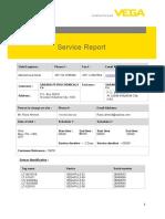 VEGA Service Report 18-05-2017