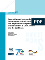 Information and Communications Technologies for the Inclusion and Empowerment of Persons With Disabilities