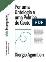 AGAMBEN, Giorgio. 2018. Por uma ontologia e uma política do gesto.pdf